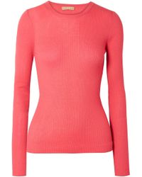 Michael Kors - Ribbed Cashmere Sweater - Lyst