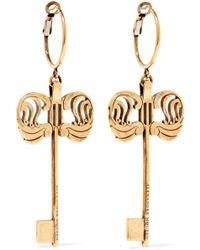 Alexander McQueen - Gold-tone Earrings - Lyst
