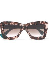 ROKSANDA - + Cutler And Gross Square-frame Acetate Sunglasses - Lyst