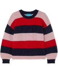 M.i.h Jeans - Jackson Striped Mohair-blend Jumper - Lyst