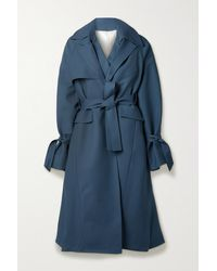 Peter Do - Layered Wool-blend Trench Coat - Lyst