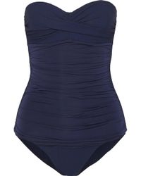 Heidi Klein - Ruched Swimsuit - Lyst