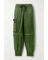 Fendi Convertible Ripstop Track Trousers - Green