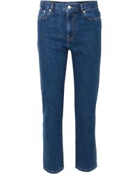 JOSEPH - Taren High-rise Straight-leg Jeans - Lyst