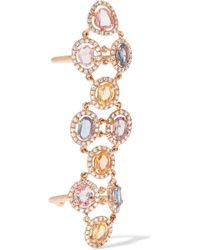 Amrapali - Blossom 18-karat Gold, Sapphire And Diamond Ring - Lyst