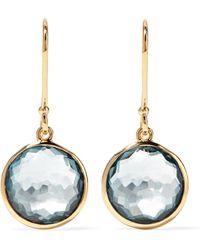 Ippolita - Lollipop 18-karat Gold Topaz Earrings - Lyst