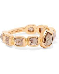 Melissa Joy Manning | 18-karat Rose Gold Diamond Ring | Lyst
