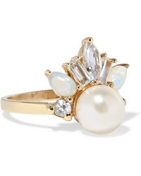 Loren Stewart - Crowned Jewel Ii 14-karat Gold Multi-stone Ring - Lyst