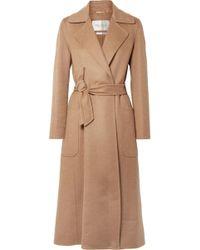 Max Mara - Viadana Belted Wool Coat - Lyst