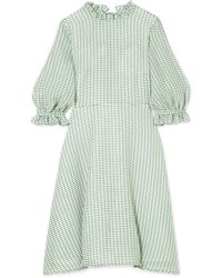 Rejina Pyo | Rachel Gingham Woven Mini Dress | Lyst