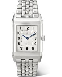 Jaeger-lecoultre - Reverso Classic Medium Thin Stainless Steel Watch - Lyst