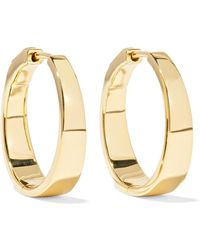 Anita Ko - Meryl 18-karat Gold Hoop Earrings - Lyst