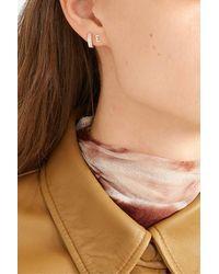 STONE AND STRAND Alphabet 14-karat Gold Earring - Metallic