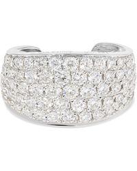 Anita Ko - Galaxy 18-karat White Gold Diamond Ear Cuff - Lyst