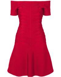 Hervé Léger - Off-the-shoulder Bandage Mini Dress - Lyst