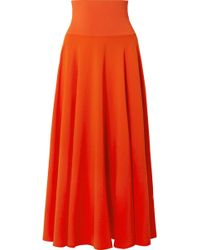 Elizabeth and James - Frances Crepe De Chine Maxi Skirt - Lyst