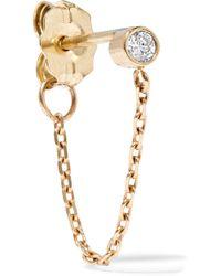 Catbird - Chained To My Heart 14-karat Gold Diamond Earring - Lyst