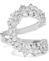 Ana Khouri - Mirian 18-karat White Gold Diamond Ring - Lyst
