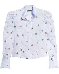 Isabel Marant - Utah Embroidered Ramie Shirt - Lyst
