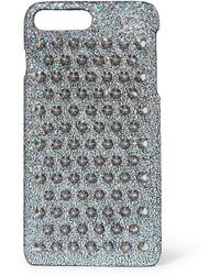 Christian Louboutin Loubiphone Metallic Leather Iphone® 7+ & 8+ Case