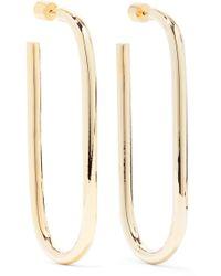 Jennifer Fisher - Ruba Gold-plated Hoop Earrings - Lyst