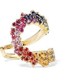 Ana Khouri - Multicolored Mirian 18-karat Gold Sapphire Ring - Lyst