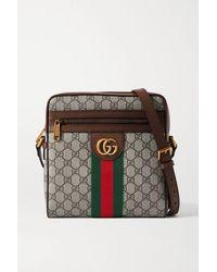 Gucci Kleine 'Ophidia GG' Kuriertasche - Mehrfarbig