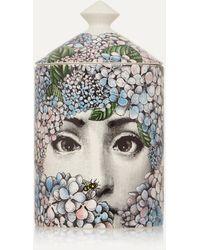 Fornasetti Ortensia Scented Candle, 300g - Multicolor
