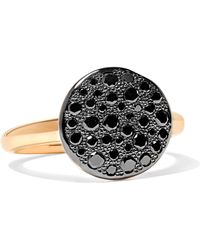 Pomellato - Sabbia 18-karat Rose Gold Diamond Ring - Lyst