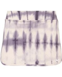 Nike - Pure Tie-dyed Dri-fit Tennis Skirt - Lyst