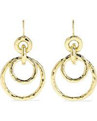 Ippolita - Jet Set Medium 18-karat Gold Earrings - Lyst