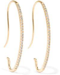 Hirotaka - Gossamer 10-karat Gold Diamond Earrings - Lyst