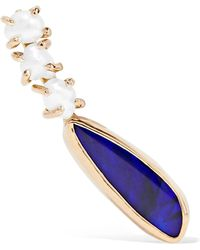 Melissa Joy Manning | 14-karat Gold, Pearl And Opal Earring | Lyst