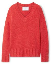 RE/DONE 90s Oversized-strickpullover - Rot