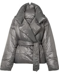 Norma Kamali - Sleeping Bag Oversized Shell Coat - Lyst