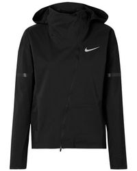 Nike Zonal Aeroshield Hooded Shell Jacket - Black