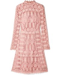 Temperley London - Amelia Guipure Lace Dress - Lyst