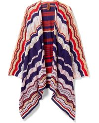 Missoni - Crochet-knit Cotton-blend Wrap - Lyst