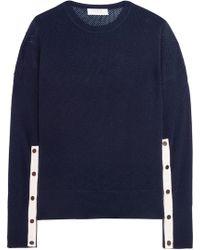 La Ligne - Wool And Cashmere-blend Open-knit Jumper - Lyst