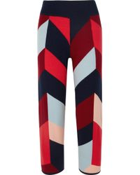Chinti & Parker - Mexicano Wool And Cashmere-blend Wide-leg Trousers - Lyst