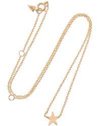 Loren Stewart - Mini Star 14-karat Gold Necklace - Lyst