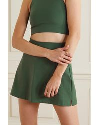 GIRLFRIEND COLLECTIVE + Net Sustain Compressive Recycled Stretch Skirt - Green