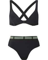 Solid & Striped   The Josephine Belted Bikini   Lyst