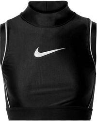 Nike - Ambush Nrg Cropped Printed Stretch-jersey Top - Lyst