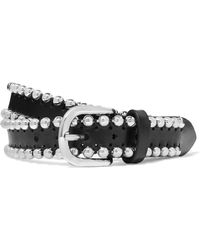 Isabel Marant | Tokky Embellished Leather Belt | Lyst