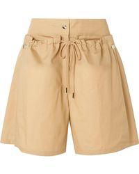 JOSEPH - Pete Cotton And Silk-blend Poplin Shorts - Lyst