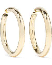 Jennifer Fisher - Mamma Jamma Gold-plated Hoop Earrings - Lyst