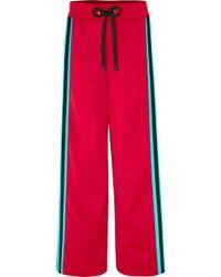 NO KA 'OI - Kai Kao Striped Satin-jersey Track Trousers - Lyst