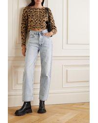Ksubi Brooklyn High-rise Straight-leg Jeans - Blue