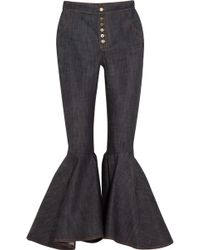 Ellery - Hysteria High-rise Flared Jeans - Lyst